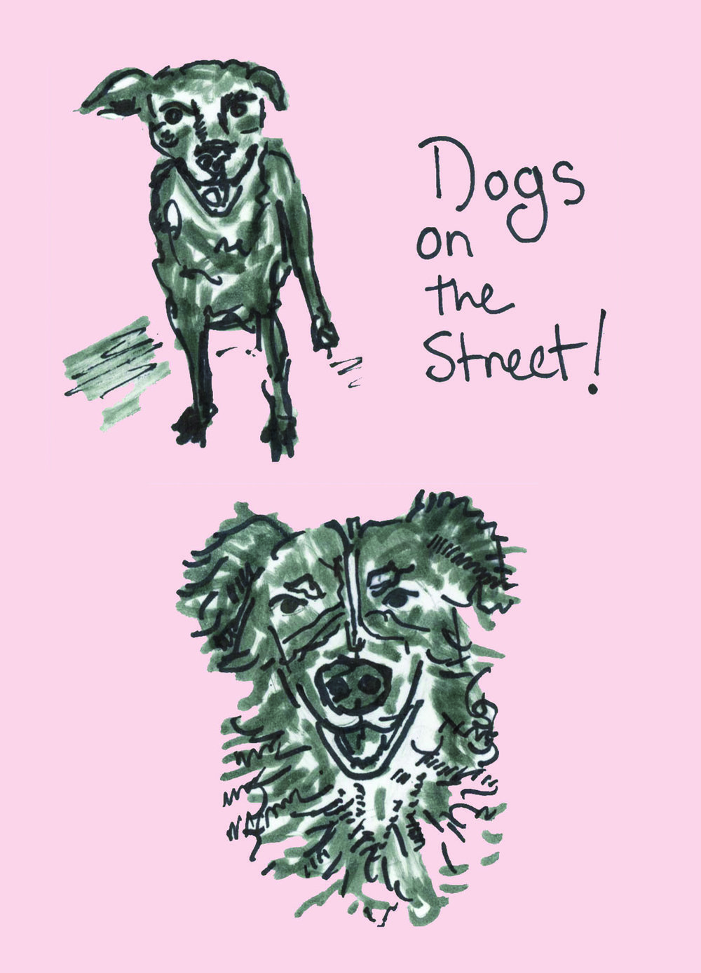 Happy Year of the Dog! Illustration by  Lindsey Frances