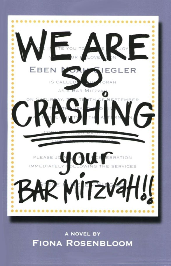 We Are So Crashing Your Bat Mitzvah!!