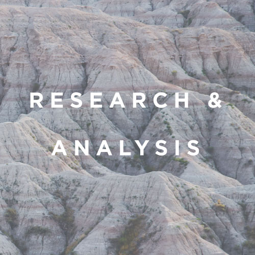Qualitative Research  Stakeholder Identification and Engagement  Market Research  Feasibility Analysis  Planning and Prioritization  Broker Price Opinions