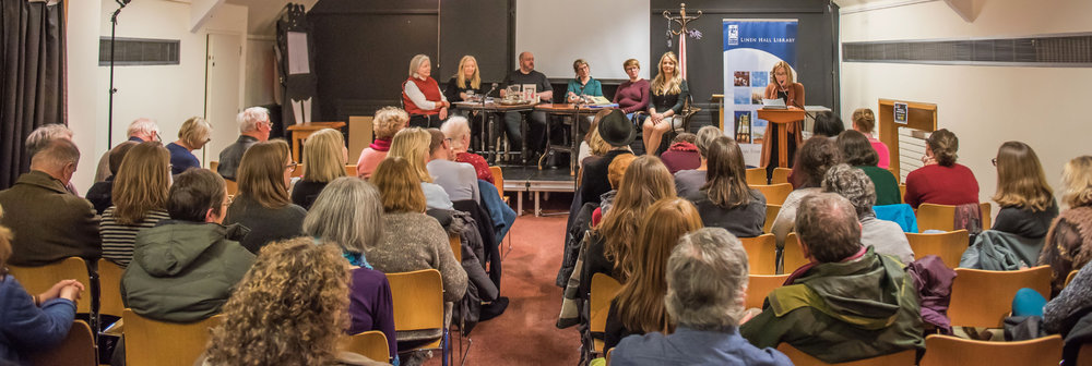It was packed to the rafters at the Linen Hall Library on Friday 18th November 2016