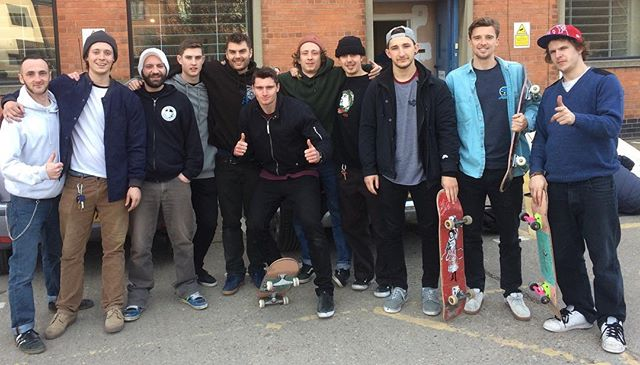Hull's first accredited Skateboard Coaches. Once again, another incredibly passionate and dedicated group of skaters.