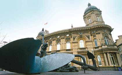 Hull Maritime Museum. I've never been. Honestly.