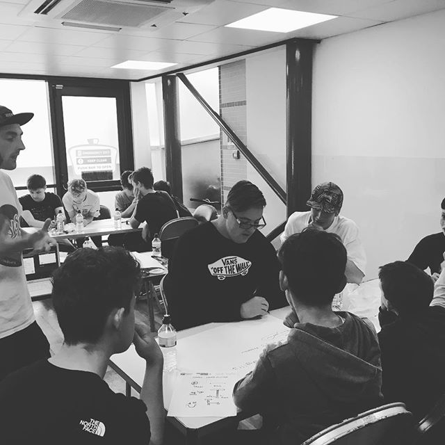 Working hard this morning on the Northerton Skate Park ambassadors course 👌🏼 #skatepark #skateboarding #inspire #nextgeneration #saturday #workshop #training #professional #skaters #scooter #new #skills #education #council #weekend #awesome #youngpeople #teenagers