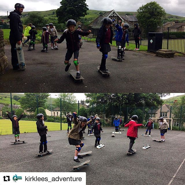 Great work from the guys @kirklees_adventure 👌🏼#skateboarding #skaters #coaching