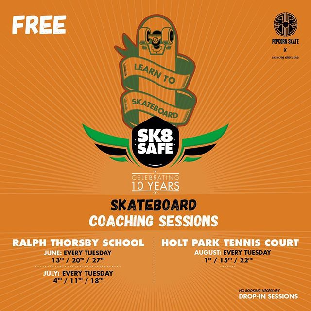 Quick reminder, no session this afternoon as the guys at Ralph Thoresby are on a school trip. See ya next week! #skateboarding #school #skate #skatecoach #skateboardcoaching #leeds #westyorkshire