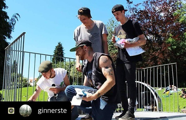 Glad you had a cracking day @ginnerste , keep an eye on our Facebook for more jams and events 👊 #skatejam #summer #bmx #community #skatepark #rad #bigdayout #bigweekend #ace