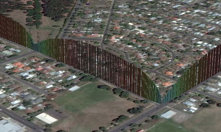 3D data plot in Google Earth