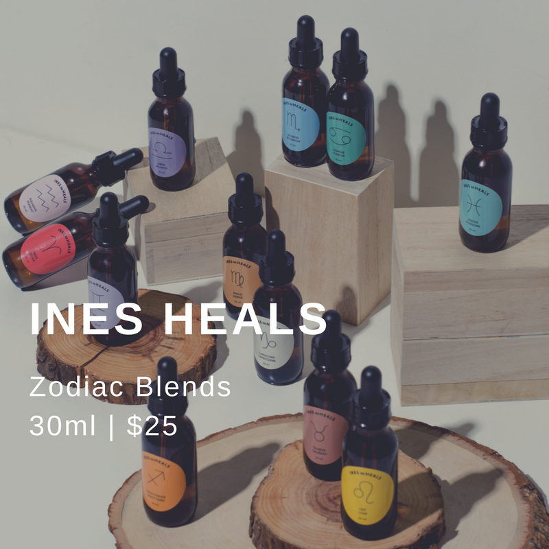 ZODIAC BLENDS - have arrived at the Ines Heals Online Shop!Click here to browse the shop and find your sign's custom-tailored Flower Essence Blend.