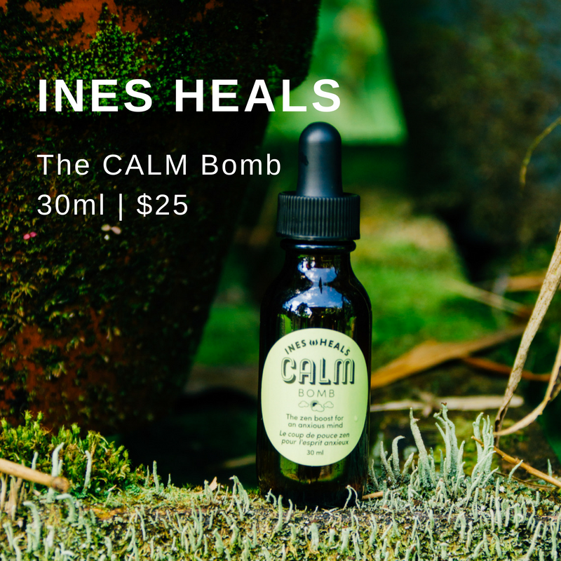 Get atomically zen with the CALM Bomb - This blend of healing Flower Essences provides daily, grounding support for anxiety, fear and panic.Click here to get yours!