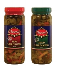 Our Giardiniera's are the Best and directly imported from Chicago!  You have to try them! on just about on anything.