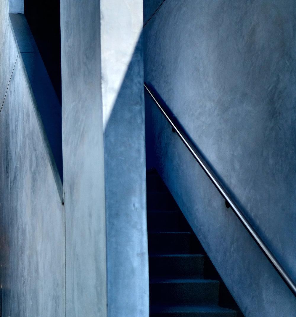 Blue Stairwell