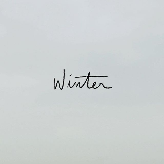 We put together a winter playlist for all these grey feels. Listen on Spotify or the link in bio.