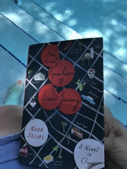 Reading by the Pool on Vacation