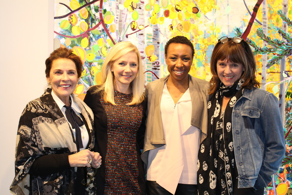 Diane Stewart, Sarah Burney, Tiffany Dufu and Jacki Zehner