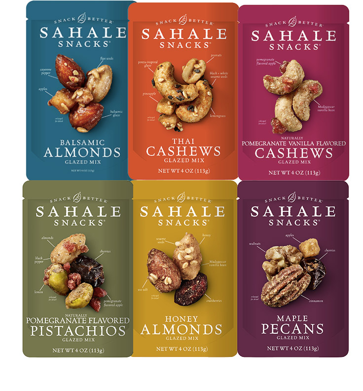 Sahale Snacks - Sahale Snacks helped to redefined healthy snacking. Sahale Snacks built their product into the #1 best-selling natural trail mix in the U.S. and became a leader in the premium, branded nut and fruit snacks category nationwide. Sahale's trail mixes and nut snacks pioneered unique seasoning and glazing techniques, winning numerous awards for innovation and sales performance. Sahale achieved over $50 million in annual net sales and was acquired by the J. M. Smucker Company in September, 2014.