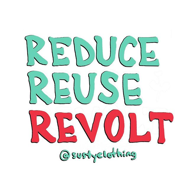 Join us in our fight against the fashion industry, against creating new, against creating waste! Rise up, research brands, and use your conscience whenever you purchase. This is a new world, we are the change, we are the revolution. Let's do better together 🌎 . . . . #fashionrevolution #fashrev #slowfashion #revolt #reuse #reduce #recycle #upcycle #giveback #zerowaste #nowaste #minimalism #savetheworld #sustainabilty #sustainablefashion #susty #getsusty #sustainable #ecofriendly #ecoawareness #ethicalfashion #ethical #consciousliving #consciousfashion @fash_rev