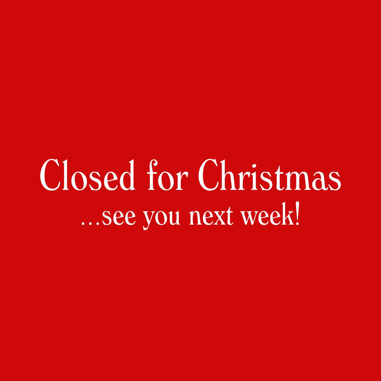 Closed For Christmas.Closed For Christmas Swingnights