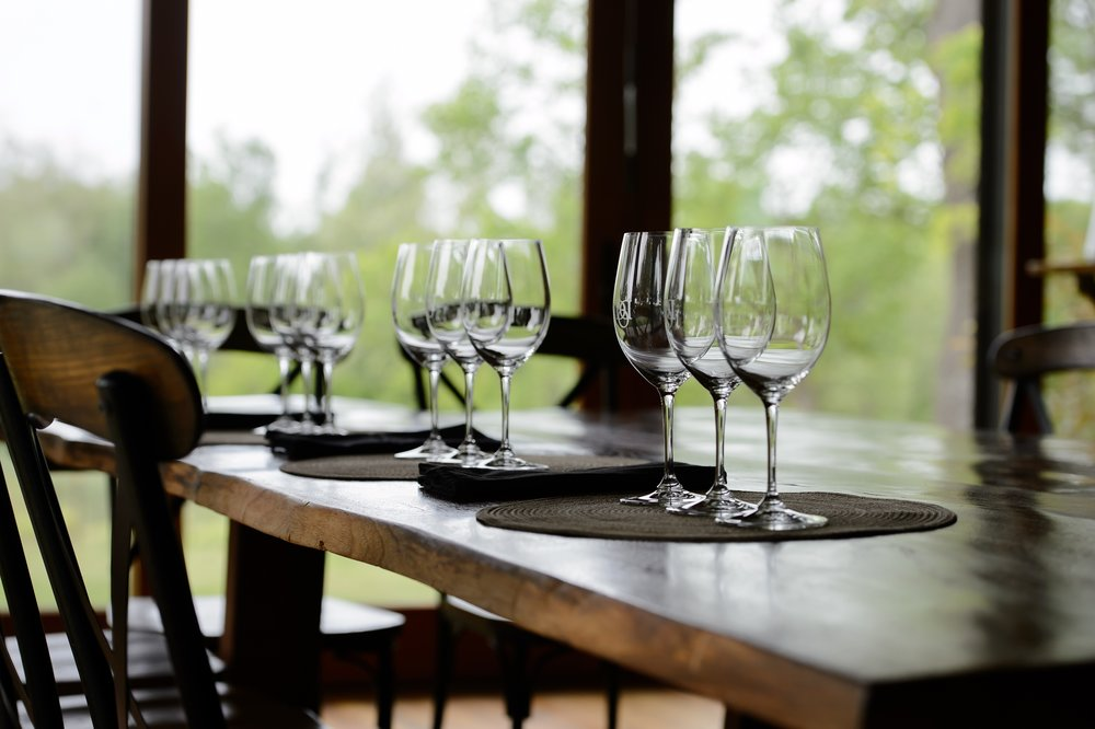 ...the unrushed experience of a seated tasting,