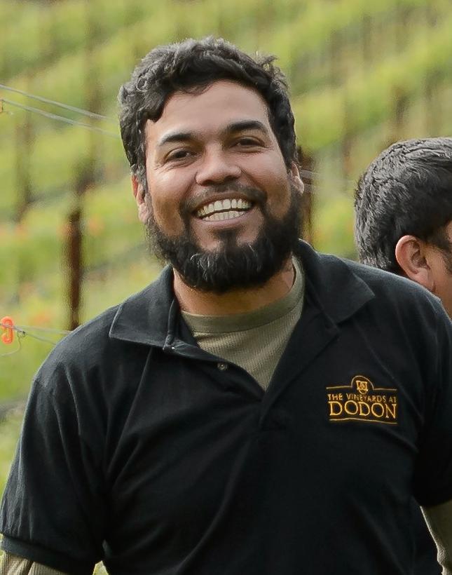 Rene Martinez, vineyard & winery associate