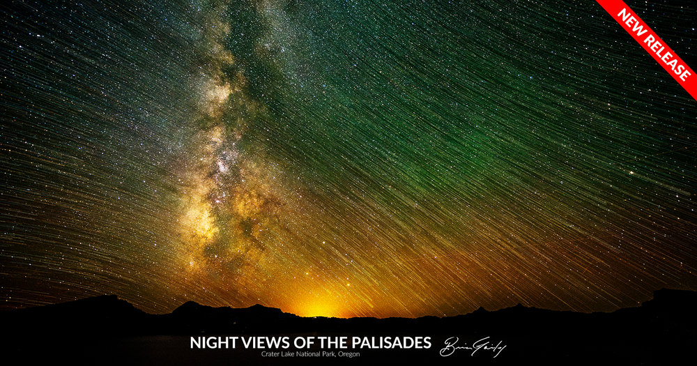 Night Views of the Palisades - BrianGailey.com