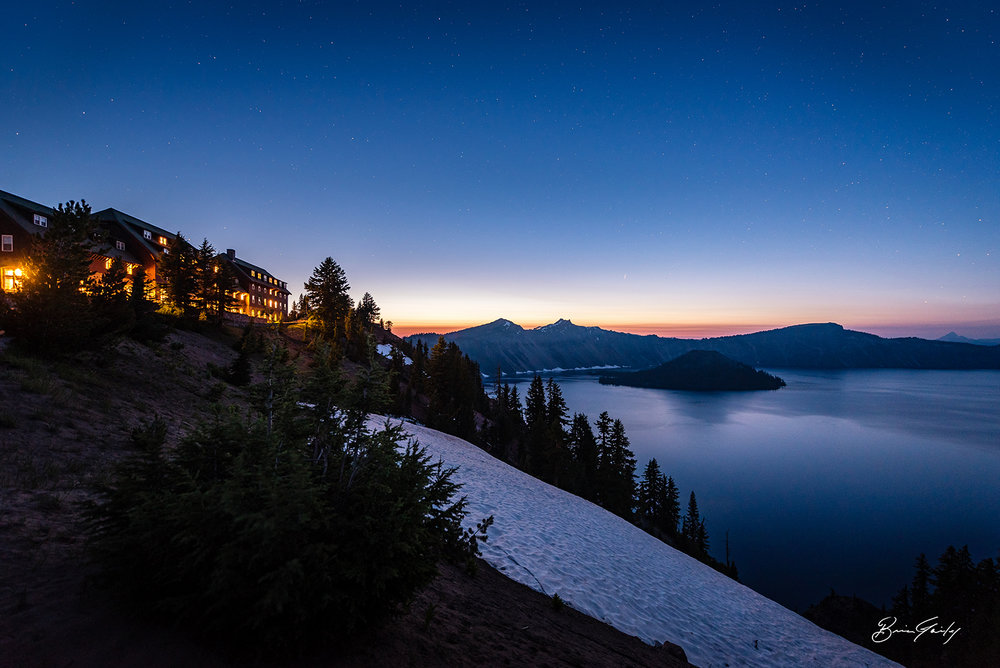 Summer Nights, Crater Lake National Park, OR - BrianGailey.com