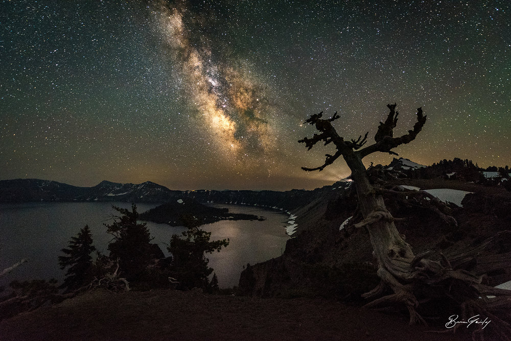 Light the Way, Crater Lake National Park, OR - BrianGailey.com