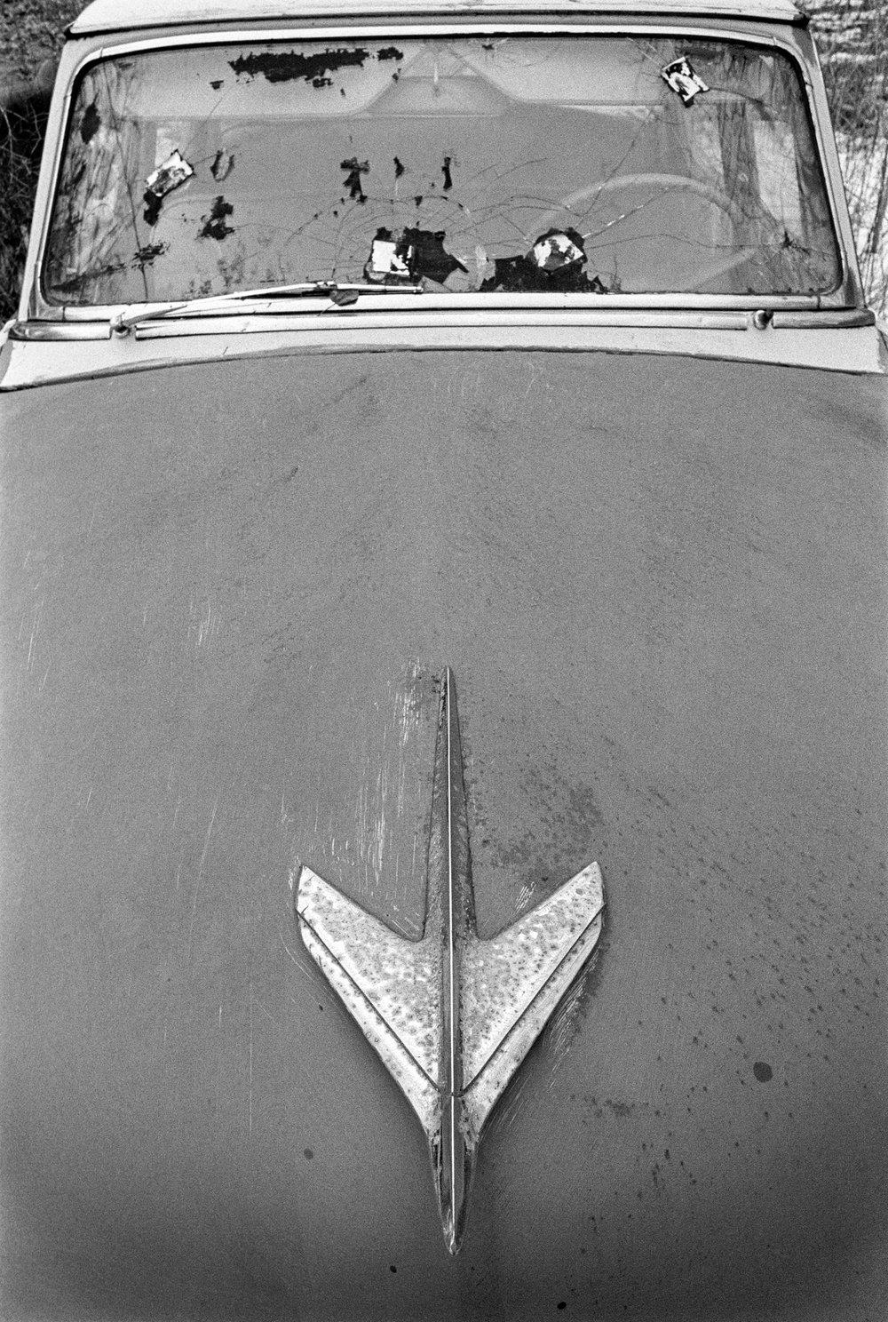 Sandy's Studebaker hood.jpg