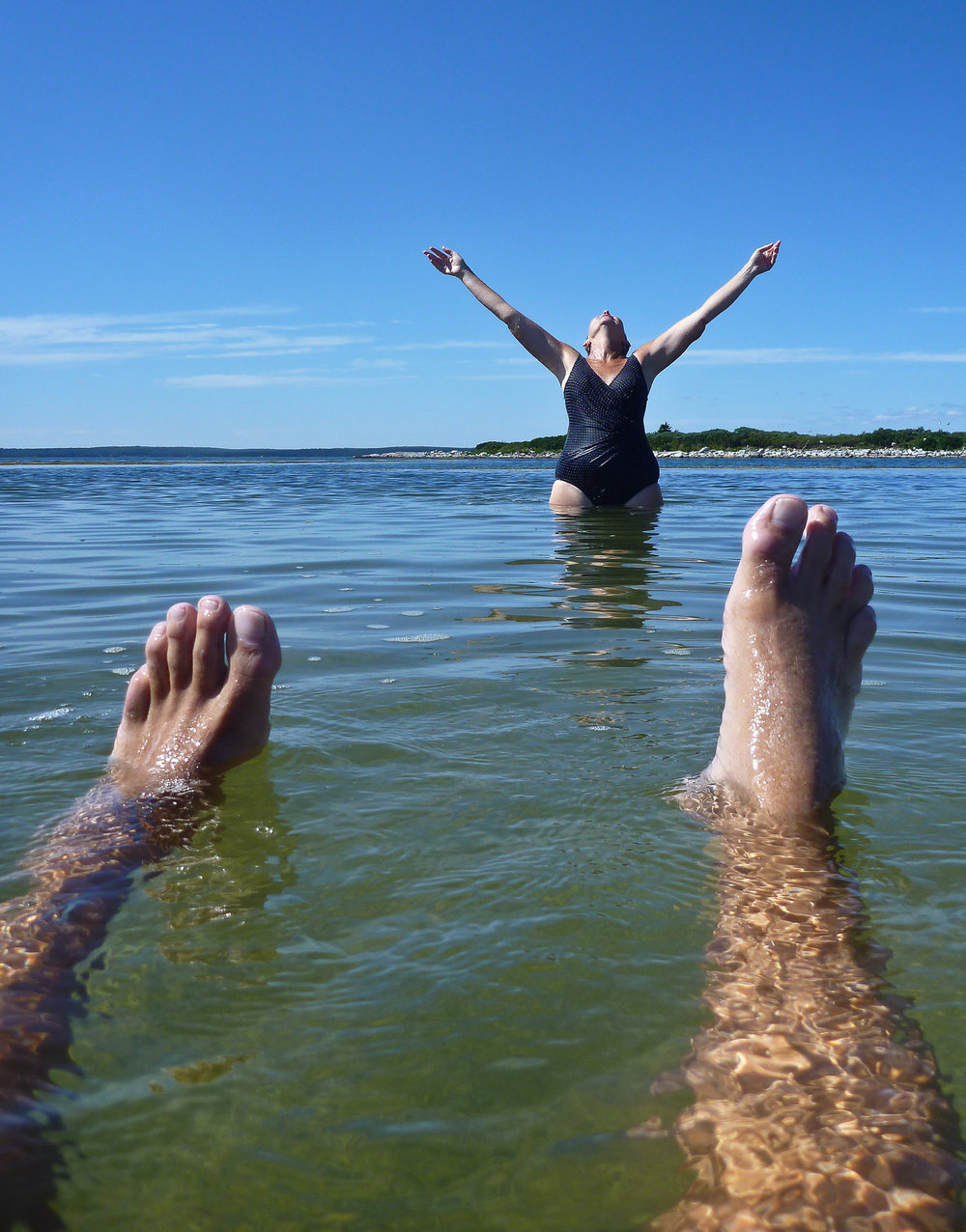 "joy at the ""Baths"""
