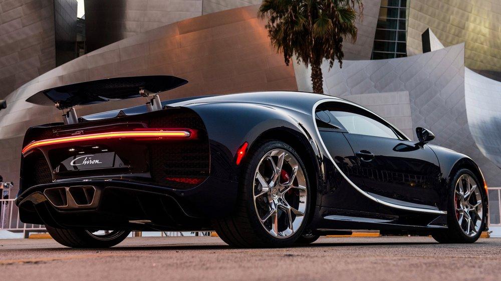 Bugatti Chiron in Los Angeles