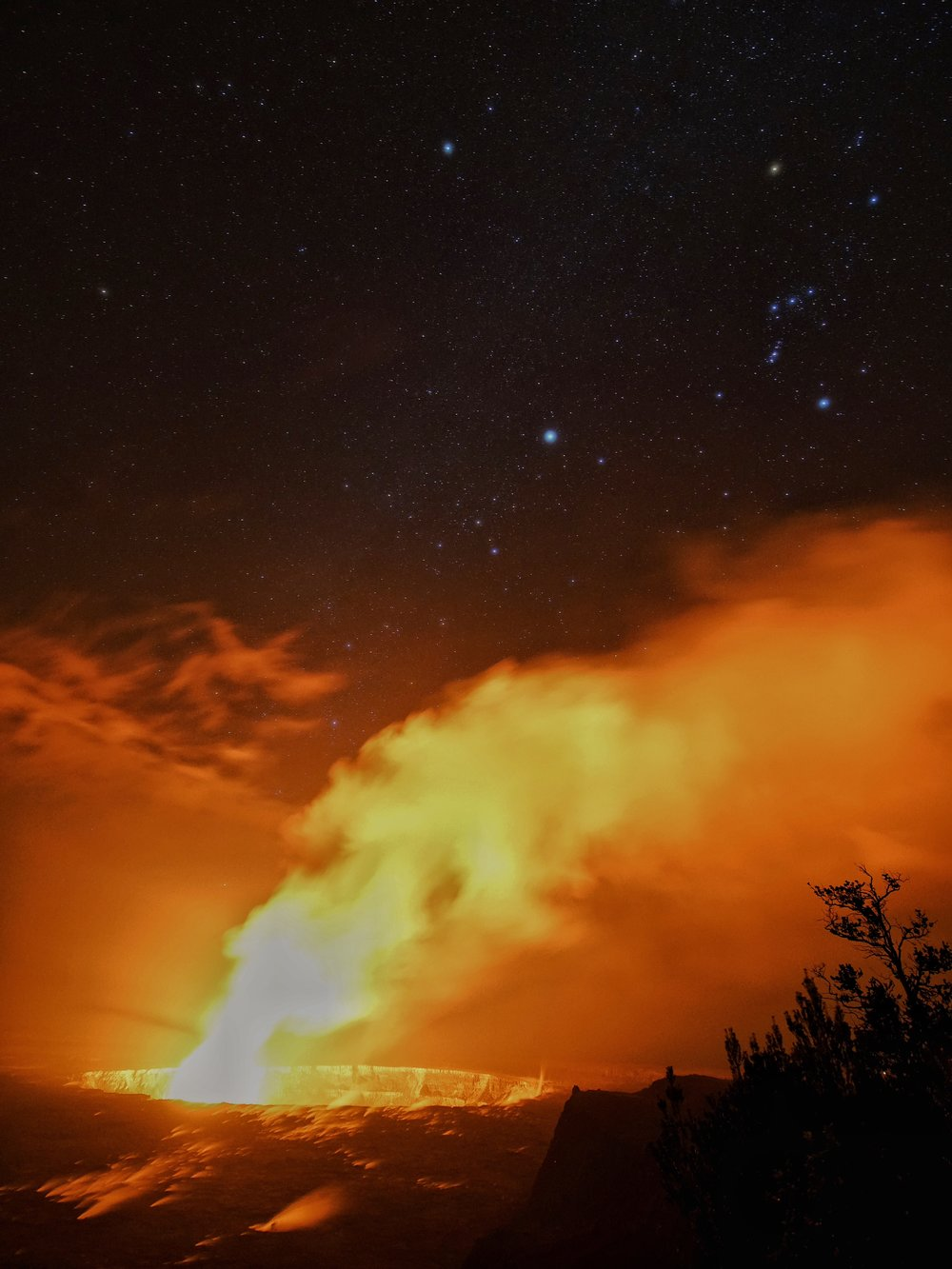 Kīlauea, Volcano National Park, Hawaii
