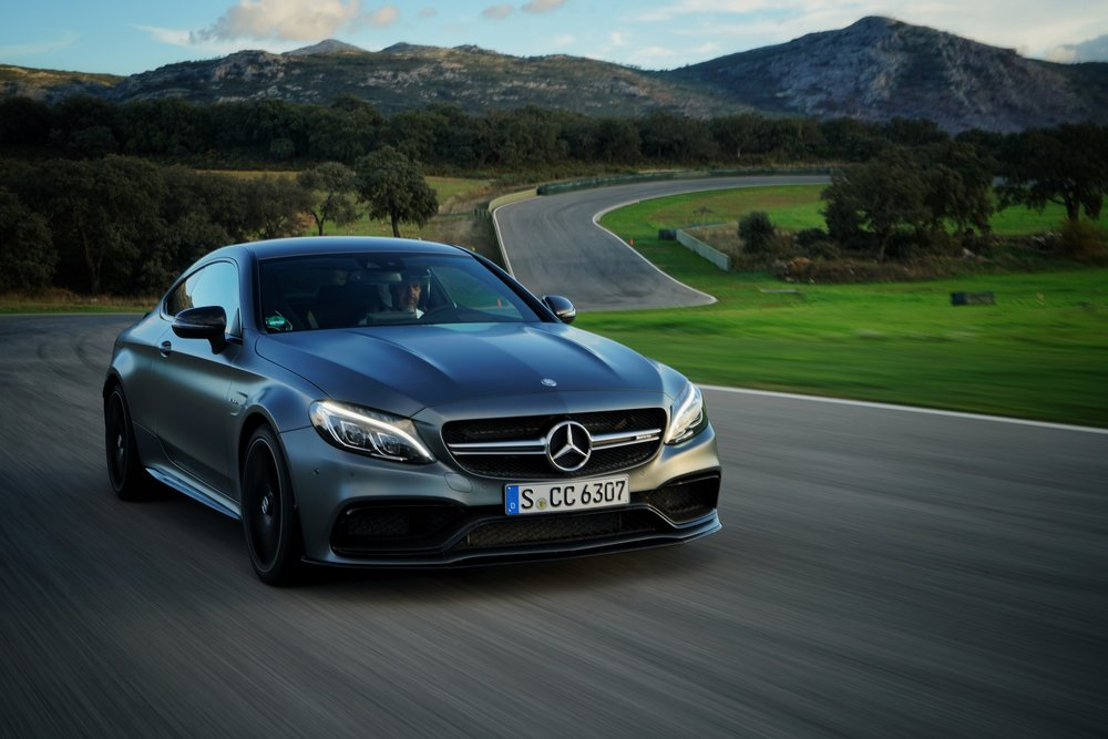 Mercedes AMG C63 Coupe, in Spain