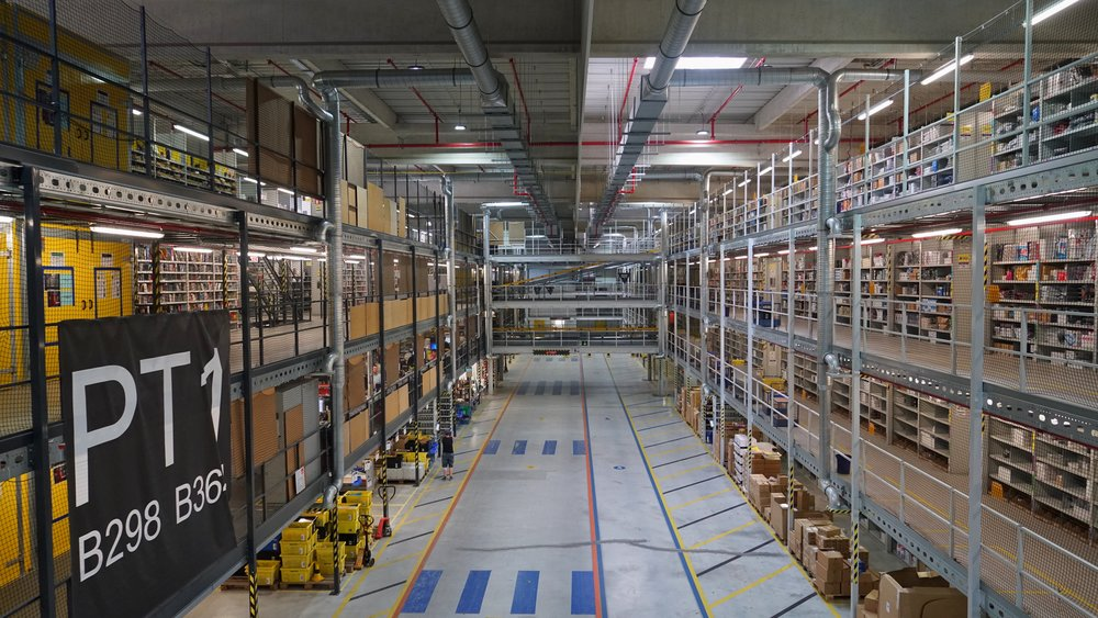 Amazon Fulfillment Center, Leipzig, Germany
