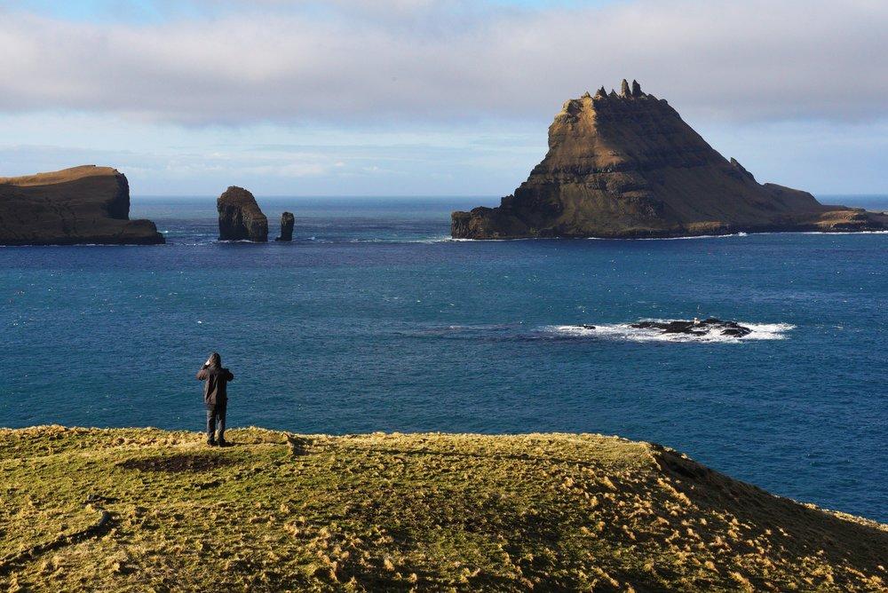 Faroe Islands, Mid-Eclipse, 2015