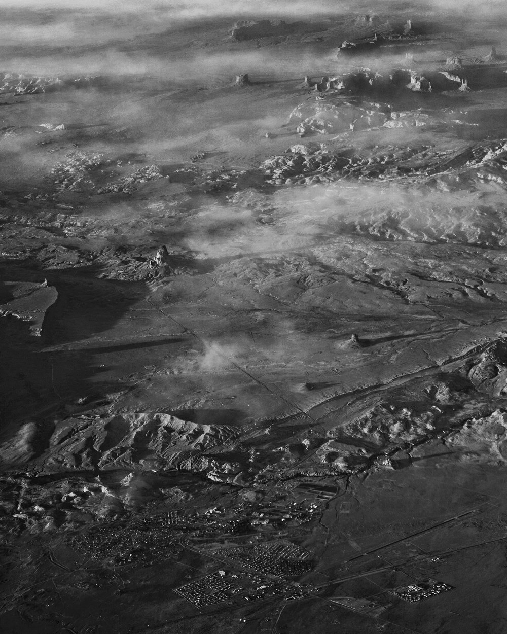 Kayenta, Agathla Peak, and Monument Valley