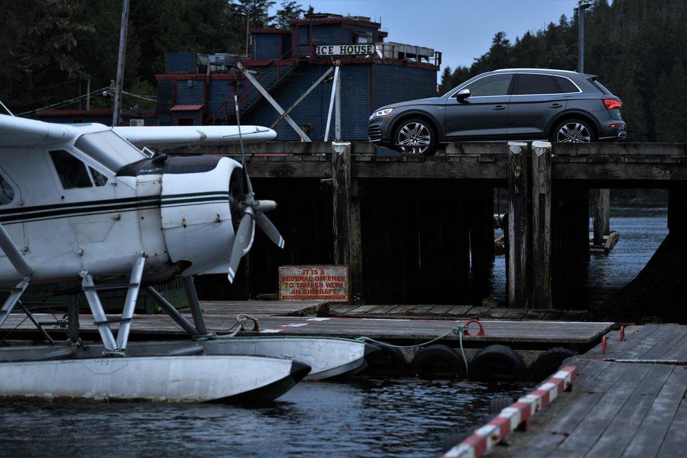 Audi SQ5, Tofino, Canada