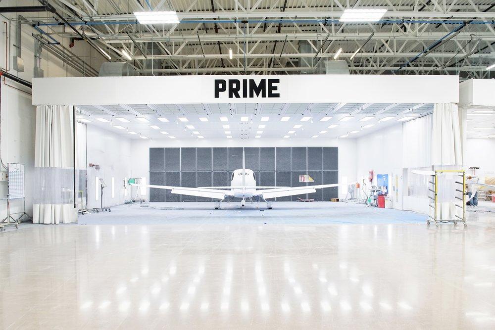 Cirrus Aircraft Paint Shop