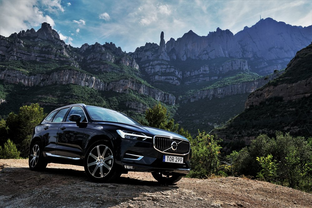 2018 Volvo XC60, at Montserrat, Spain