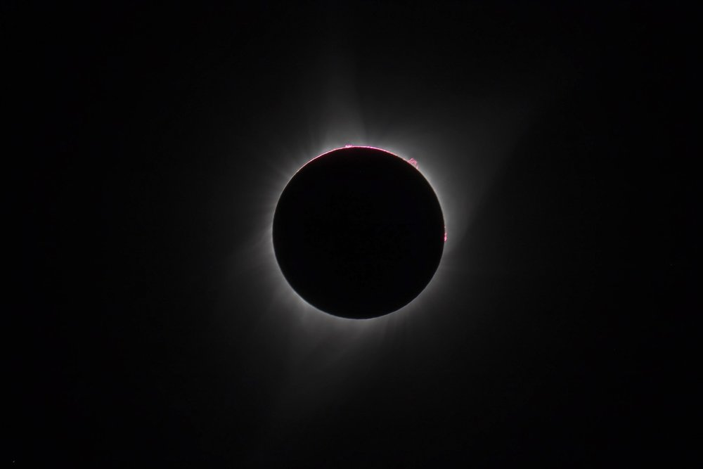 2017 Total Solar Eclipse, from Dubois, Wyoming