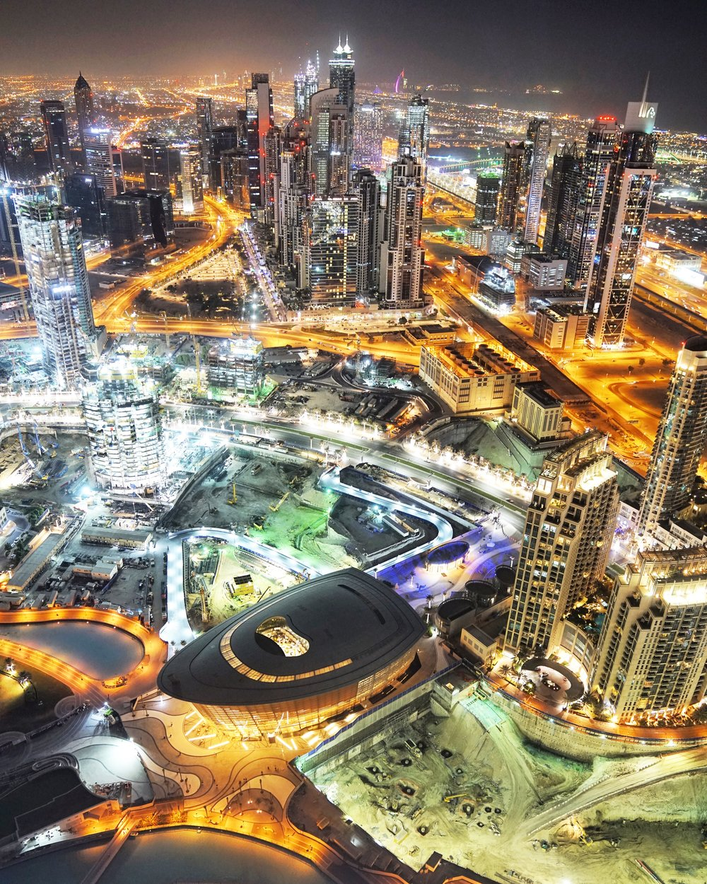 Dubai, from Burj Khalifa