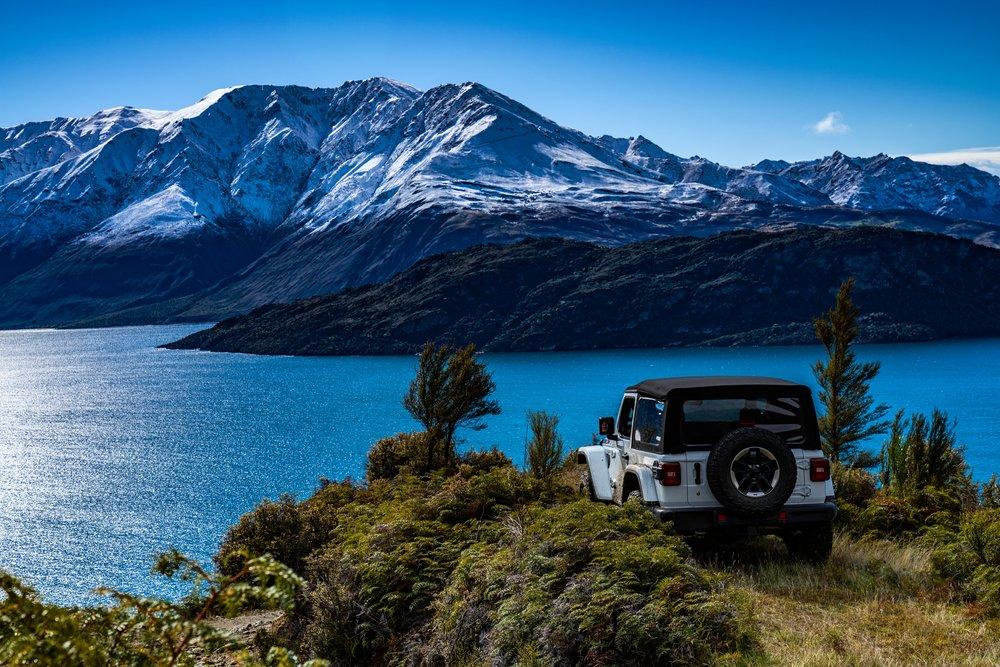 Jeep Wrangler in New Zealand