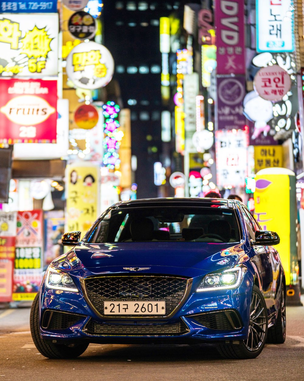 Genesis G80 Sport, Seoul, South Korea