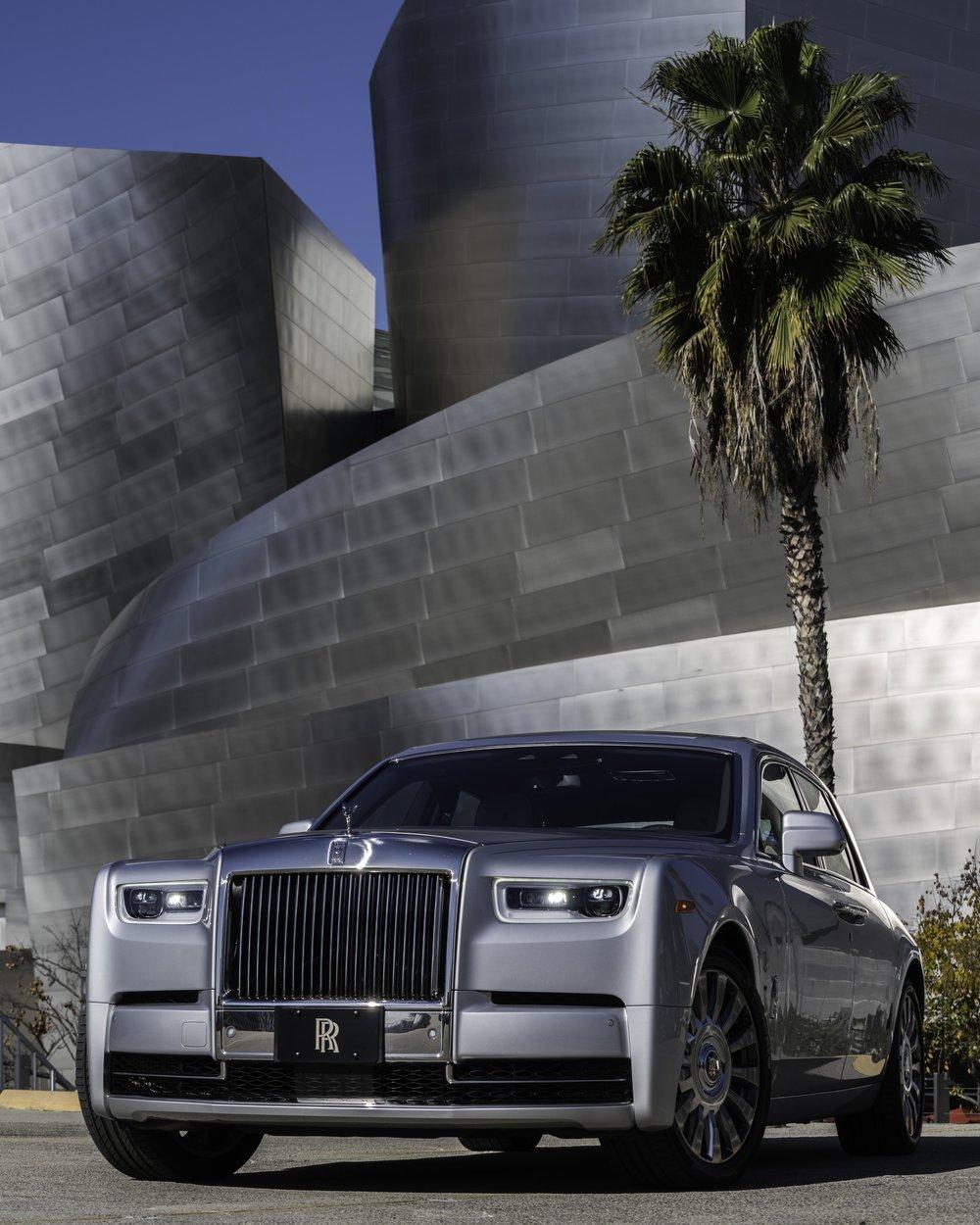 Rolls-Royce Phantom at Disney Concert Hall, LA