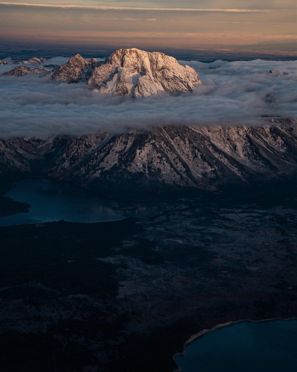 Mt. Moran, Wyoming
