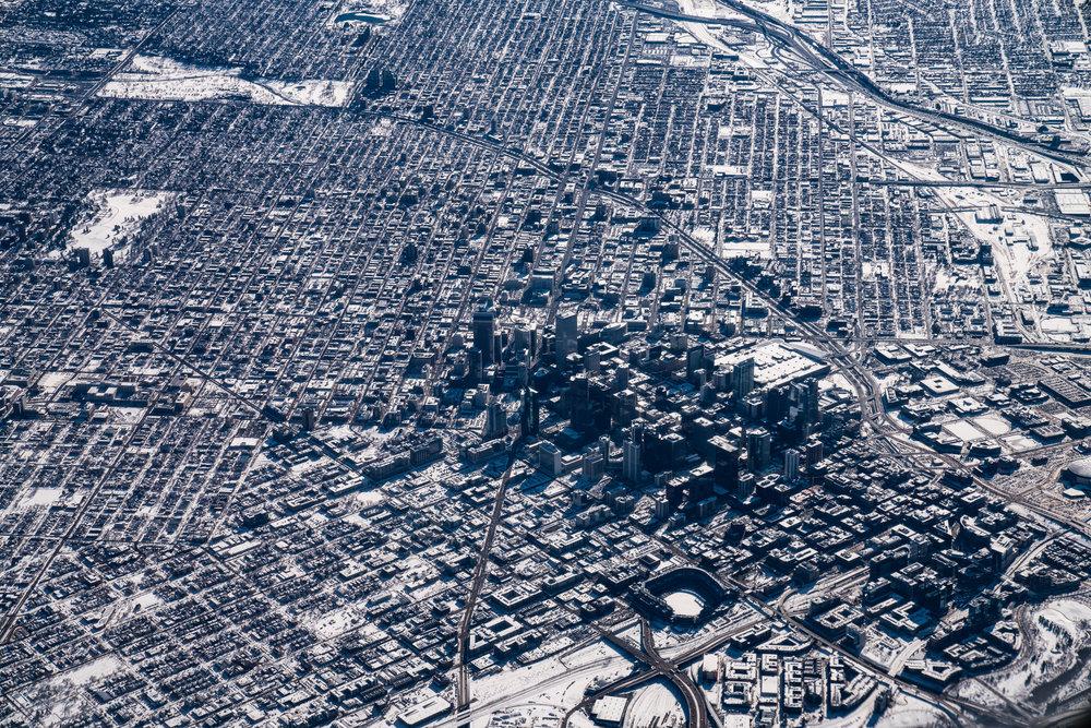 Denver in Winter