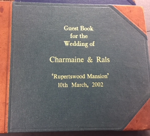 Custom Guest books made to order