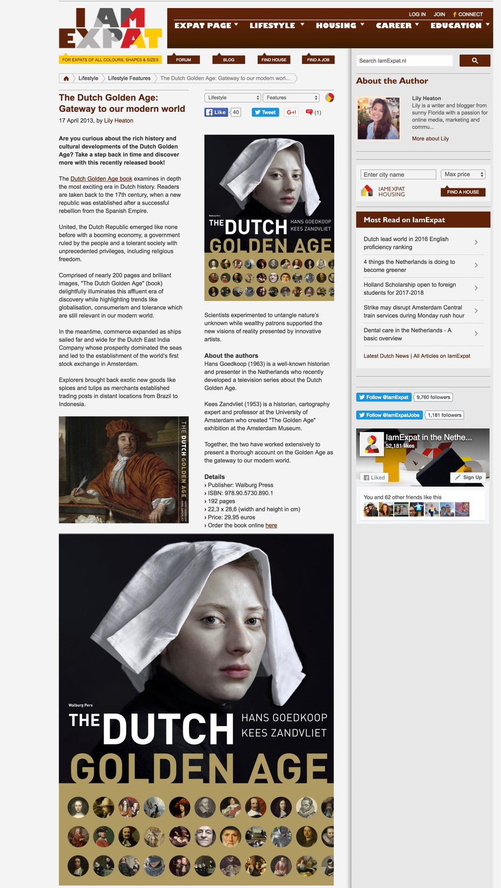 The Dutch Golden Age: Gateway to our Modern World