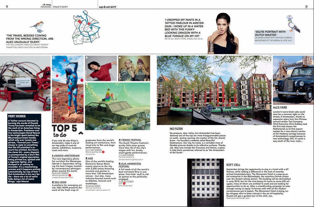 Photography | A-mag – Amsterdam Magazine: Vol 5, No. 4 July/August 2017 Arts & Entertainment | Page 9