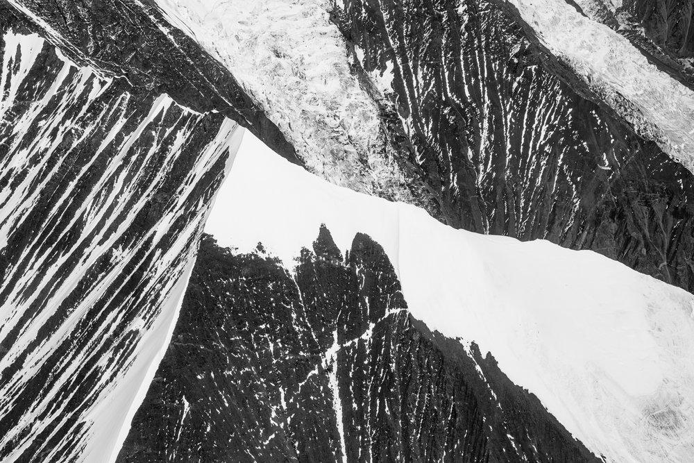 Mountain Abstract, Alaska Range