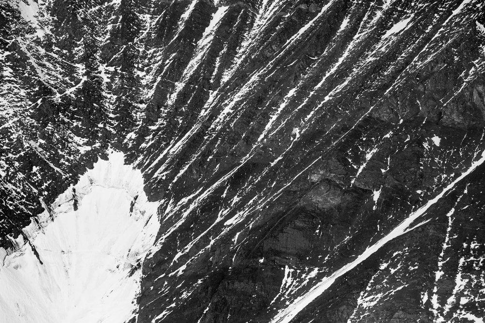 Mountain Abstract II, Alaska Range