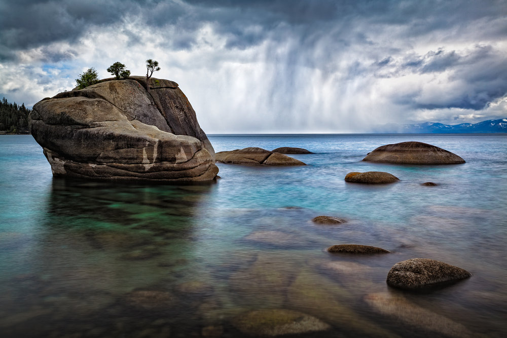 Spring Storm, Bonsai Rock